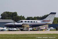 N558BF @ KOSH - Cessna 421C Golden Eagle  C/N 421C0845, N558BF