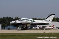 N320K @ KOSH - Cessna 320 Skyknight  C/N 320-0018, N320K