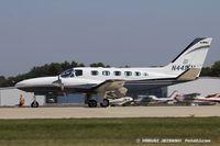 N441KM @ KOSH - Cessna 441 Conquest II  C/N 4410196, N441KM