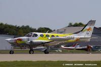 N340BB @ KOSH - Cessna 340A  C/N 340A0991, N340BB