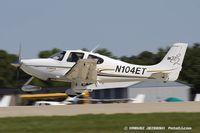N104ET @ KOSH - Cirrus SR22  C/N 1024, N104ET - by Dariusz Jezewski www.FotoDj.com
