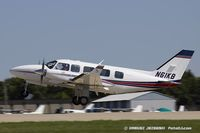 N61KB @ KOSH - Piper PA-31-350 Chieftain  C/N 31-8152156, N61KB