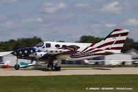 N414SD @ KOSH - Cessna 414  C/N 414-0163, N414SD