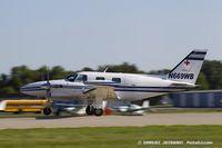 N669WB @ KOSH - Piper PA-31T1 Cheyenne  C/N 31T-8004018, N669WB