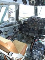 N7458 - Vickers Viscount 797 (cockpit section only) at the Wings of History Air Museum, San Martin CA