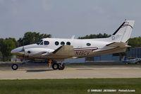 N46CV @ KOSH - Beech C90 King Air  C/N LJ-568, N46CV