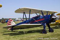N53040 @ KOSH - Boeing A75N1(PT17) Stearman  C/N 75-799, NC53040