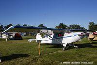 N7712H @ KOSH - Piper PA-12 Super Cruiser  C/N 12-604, N7712H