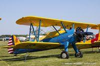 N95DA @ KOSH - Boeing A75N1(PT17) Stearman  C/N 75-1570, N95DA
