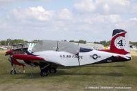 N9JD @ KOSH - Beech A45 (T-34A) Mentor  C/N G-134, N9JD - by Dariusz Jezewski www.FotoDj.com
