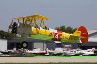 N4997V @ KOSH - Boeing A75N1(PT17) Stearman  C/N 75-3423, N4997V