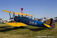 N725FR @ KOSH - Boeing A75 PT-13 Kaydet  C/N 75-384, N725FR