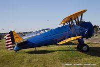 N9856H @ KOSH - Boeing A75N1(PT17) Stearman  C/N 75-4988, N9856H