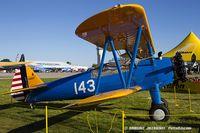 N52131 @ KOSH - Boeing A75N1(PT17) Stearman  C/N 75-8511, N52131
