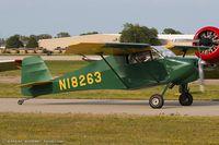 N18263 @ KOSH - Wittman Buttercup  C/N 001X, N18263