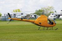 N162LR @ KOSH - Rotorway 162F  C/N 6756, N162LR