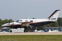 N73BG @ KOSH - Piper PA-31T1 Cheyenne  C/N 31T-8004027, N73BG