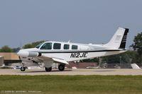 N12JE @ KOSH - Beech A36 Bonanza 36  C/N E-2961, N12JE - by Dariusz Jezewski www.FotoDj.com