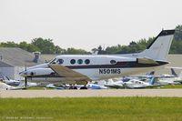 N501MS @ KOSH - Beech C90 King Air  C/N LJ-626, N501MS