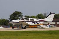 N6748Y @ KOSH - Beech 95-B55 (T42A) Baron   C/N TC-2317, N6748Y - by Dariusz Jezewski www.FotoDj.com
