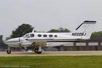 N222BJ @ KOSH - Cessna 414 Chancellor  C/N 414-0264, N222BJ