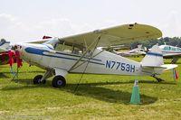 N7753H @ KOSH - Piper PA-12 Super Cruiser  C/N 12-651, N7753H