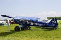 N1017S @ KOSH - Piper PA-18A 150 Super Cub  C/N 18-7038, N1017S - by Dariusz Jezewski www.FotoDj.com