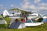 C-FSEN @ KOSH - Piper PA-12 Super Cruiser  C/N 12-2847, C-FSEN