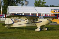 N44034 @ KOSH - Taylorcraft BC12-D  C/N 9834, NC44034