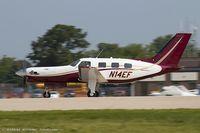N14EF @ KOSH - Piper PA-46-350P Malibu Mirage  C/N 4622009, N14EF - by Dariusz Jezewski www.FotoDj.com