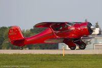 N51121 @ KOSH - Beech D17S Staggerwing  C/N 4914, NC51121