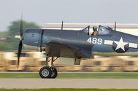 N209TW @ KOSH - Goodyear FG-1D Corsair C/N 92489 NX209TW