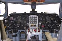 N22968 - Cockpit of Fairchild C-123K Provider