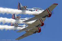 N7648E @ KOQU - North American SNJ-3 Texan  C/N 786987 - Geico Skytypers, N7648E
