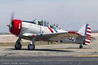 N65370 @ KOQU - North American SNJ-2 Texan C/N 2562 - Geico Skytypers, N65370