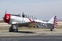 N60734 @ KOQU - North American SNJ-2 Texan C/N 2032 - Geico Skytypers, N60734