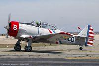 N62382 @ KOQU - North American SNJ-2 Texan C/N 2039 - Geico Skytypers, N62382