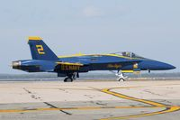 163765 @ KOQU - F/A-18C Hornet 163765 C/N 0845 from Blue Angels Demo Team  NAS Pensacola, FL - by Dariusz Jezewski www.FotoDj.com