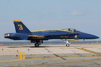 163442 @ KOQU - F/A-18C Hornet 163442 C/N 0645 from Blue Angels Demo Team  NAS Pensacola, FL - by Dariusz Jezewski www.FotoDj.com