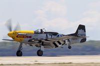 N119H @ KOQU - North American F-51D Mustang Never Miss  C/N 44-73275, N119H