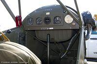 N70615 @ KRDG - Cockpit of Piper J3C-65 Cub  C/N 17624, N70615 - by Dariusz Jezewski www.FotoDj.com