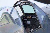 N969SM @ KRDG - Cockpit of Supermarine Spitfire Mk XVIII  C/N 6S-663052 - Jim Beasley, NX969SM