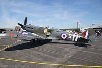 N969SM @ KRDG - Supermarine Spitfire Mk XVIII  C/N 6S-663052 - Jim Beasley, NX969SM