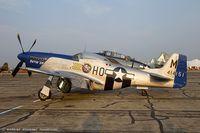 N314BG @ KYIP - North American F-51D Mustang Pete 2nd  C/N 44-73140, N314BG