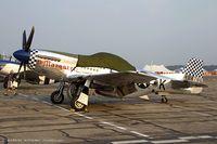 N51BS @ KYIP - North American P-51D Mustang Lil Margaret  C/N 44-73822, N51BS