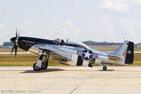 N51HY @ KADW - North American P-51D Mustang Quick Silver  C/N 45-11439, NL51HY