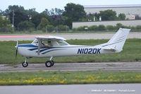 N102DK @ KOSH - Cessna 150F  C/N 15063277, N102DK - by Dariusz Jezewski www.FotoDj.com