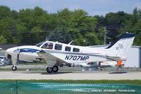 N707MP @ KOSH - Beech 58P Baron  C/N TJ-166, N707MP - by Dariusz Jezewski www.FotoDj.com