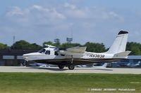 N9383R @ KOSH - Aero Commander 500-B  C/N 905-14, N9383R