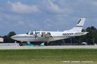 N680FP @ KOSH - Smith Aerostar 601P  C/N 61P-0438-164, N680FP